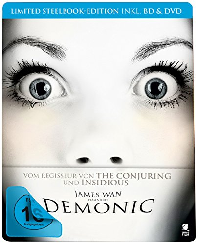 Demonic - Haus des Horrors (Blu-ray Steelbook inkl. Blu-ray und DVD, Limited Edition) (exklusiv bei Amazon.de)