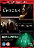 The Unborn/Quarantine/The Strangers [DVD]