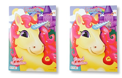 Royal Valentine Coloring Book 2 Pack
