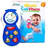 Homeshopeez Music Cell Phone(Multicolor)