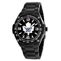 Game Time Unisex NHL-WAR-TOR Warrior Toronto Maple Leafs Analog 3-Hand Watch