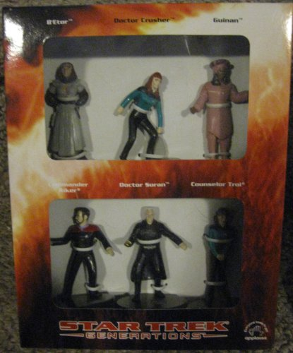 "Star Trek ""Generations"" - 6 Figure Collectors Box Set (1994)"