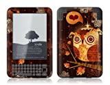 Protective Skin Designer Cover for Amazon Kindle Keyboard 3 - The Enamored Owl - Gelaskins