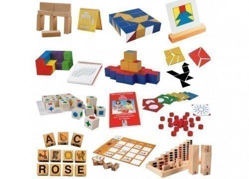 Das Entwicklungspaket - Die 'Aufbauenden Spiele' N1 bis N10 von Boris und Lena Nikitin / für Kinder ab 3 Jahren