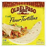 Old El Paso 8 Soft Flour Tortillas 326gm