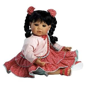 "Adora Sassy And Sweet 20"" Play Doll Black Hair/Brown Eyes"
