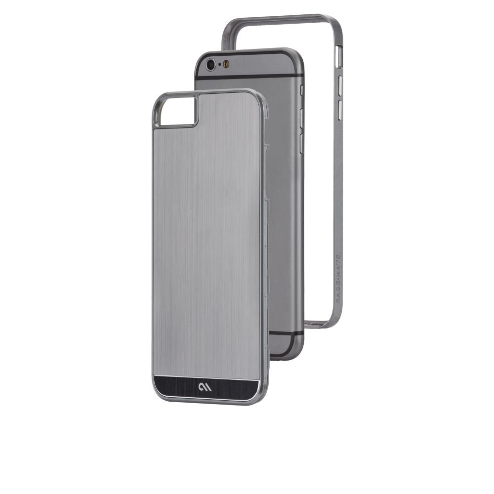 Brushed Aluminum Iphone 6 Case Case-mate Brushed Aluminum