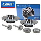 2x GENUINE SKF Wheel Bearing Kit + Hub Front Axle SMART CABRIO CONVERTIBLE CITY-COUPE CROSSBLADE (450) 0.6 0.7 0.8 98-04, FORTWO CABRIO CONVERTIBLE COUPE 0.7+0.8 04-07, ROADSTER (452) + COUPE 0.7 03-05
