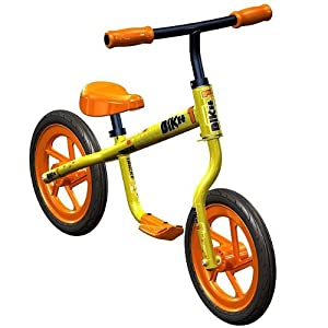 Trikke Bikee Balance Bike (Yellow)