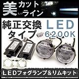 RAYBRIG 純正フォグランプ交換タイプ LEDフォグランプ LF06&リムキット RM11Tセット 車種別対応 1年保証 フォグライト アクア/プリウス/カローラ/ヴィッツ/ヴォクシー/エスティマ/ノア/ラクティス/HS250H/RX270/RX350/マーク X/ウィッシュ/イスト
