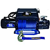 Superwinch 1612211 Talon 12.5iSR, 12 VDC winch, 12,500 lb/5,682 kg capacity with hawse fairlead & synthetic rope