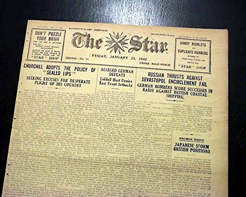 rare-germans-germany-occupation-island-of-guernsey-1942-world-war-ii-newspaper-the-star-guernsey-cha