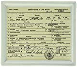 Fishs Eddy Obama Birth Certificate Tray