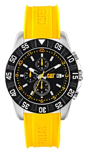 Caterpillar CAT Watches PM14322134 YELLOW DP SPORT BLACK