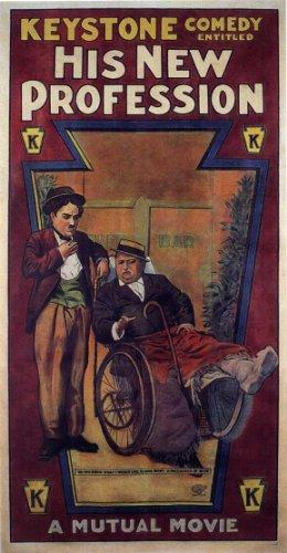 Keystone comedy - His New Profession - Charlie Chaplin