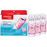 Playtex Ventaire Advanced Bottle, Pink, 9 Ounce (Pack of 3)