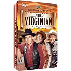 The Virginian Season 7 - Collectable Embossed Tin