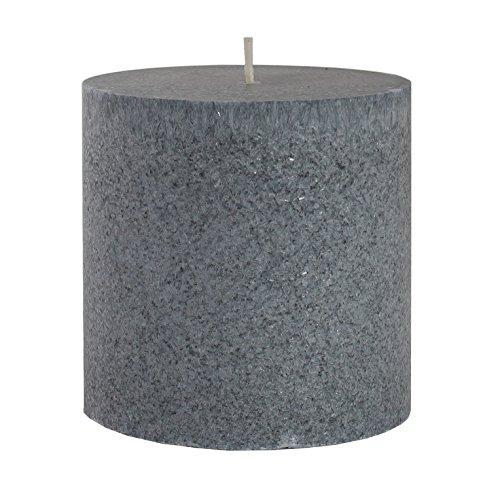 profumata candela candele-cera vegetale/Bio candela, crema, 7,5x 10cm, durata 60H, fragranza: Ocean Breeze migliori candele con fragranza naturale, nero, 10 x 10 cm