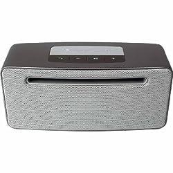 Nakamichi Wireless Bluetooth 4.0 Speaker BTSP80 - Matte Silver