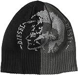 ブラック メンズ ニットキャップ K-GRAFIS-B CAP 00STPB0CANT 900 UNI