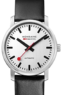 Mondaine Classic Vintage 41 Automatic Watch (Limited Edition of 500 ... 0bc0a94bb2
