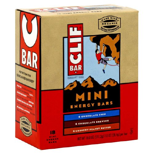 Clif Bars Variety Pack, 1-Ounce (Pack of 108)
