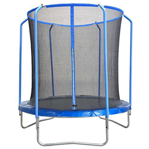 BPS 14Ft Trampoline Replacement Safety Net For 4 Poles Top