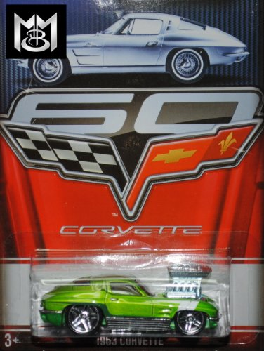 Hot Wheels 2013 Corvette Series 60 Year Anniversary Limited Edition - 1963 Corvette 7/8