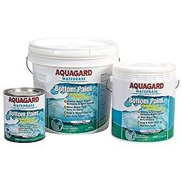 AMRA-10001.016 * Aquagard Water-Based Antifouling Paint (Quart)-Black