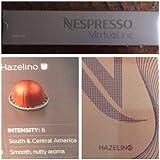 10 Capsules Nespresso VertuoLine Hazelino Coffee