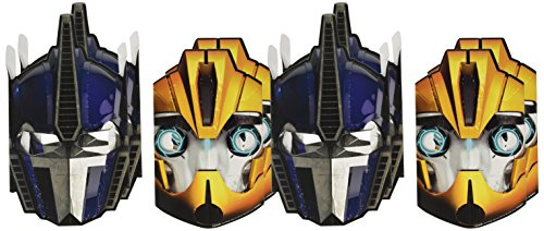 Transformers Paper Masks (8 Pack) (Paper Mask Party compare prices)