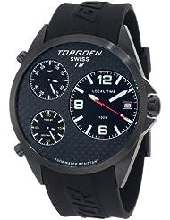 Torgoen Swiss Men's T08304 T08 Series Classic Black Aviation Watch