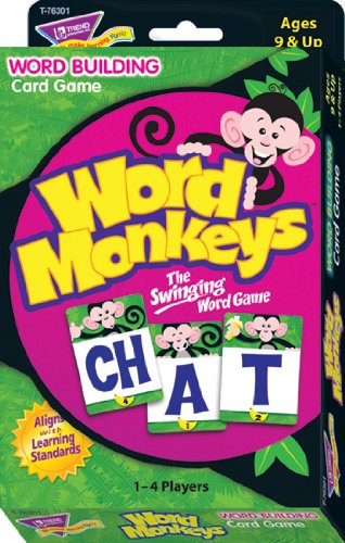 Word Monkeys Word Building Card Game