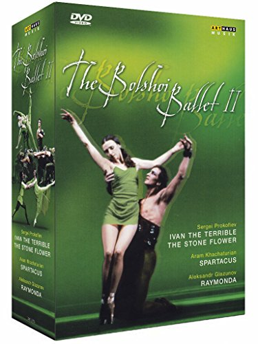 The Bolshoi Ballet 2: Ivan the Terrible, The Stone Flower, Spartacus, Raymonda [DVD] [1989] [2008]