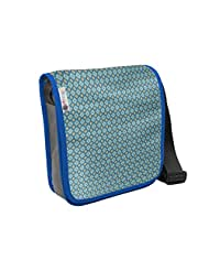 Atrangee Blue French Meadow City Sling Bag
