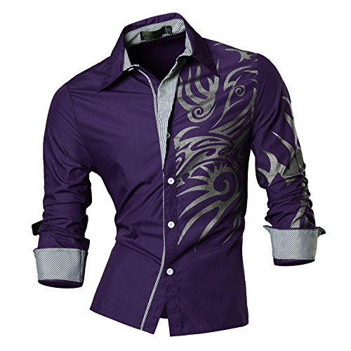 Cool shirts men love for Cool long sleeve button up shirts