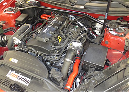 HPS (57-1013-RED) Silicone Radiator Hose Kit For Ford Mustang Модель - фото 4