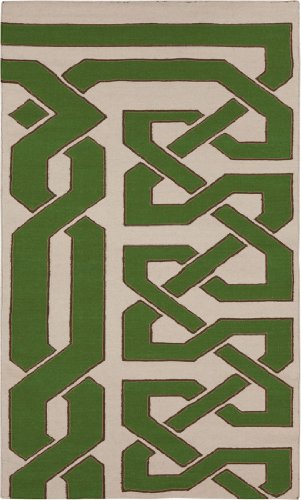 2' x 3' Rectangular Surya Accent Rug by Beth Lacefield AMD1033-23 Silver Birch Color Flatwoven in India