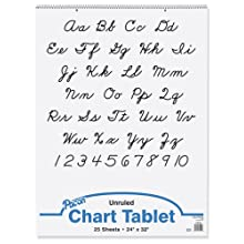 Pacon Chart Tablets, 24 x 32 Inches, 25 Sheets (0074510)
