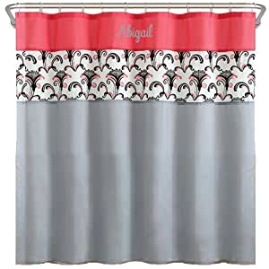 Share facebook twitter pinterest ababy custom fleur de lis has - Fleur de lis shower curtains ...
