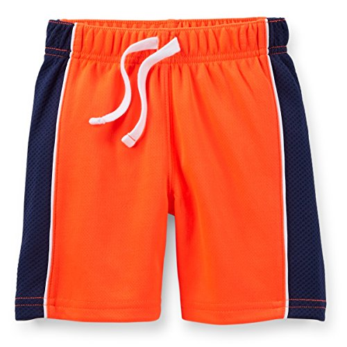 Carters Baby Boys Active Mesh Shorts Orange 6M