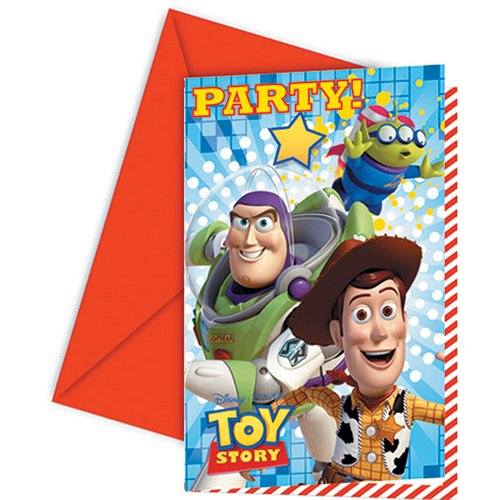 Amscan - Invitaciones para fiestas Toy Story (Amscan International 81542)