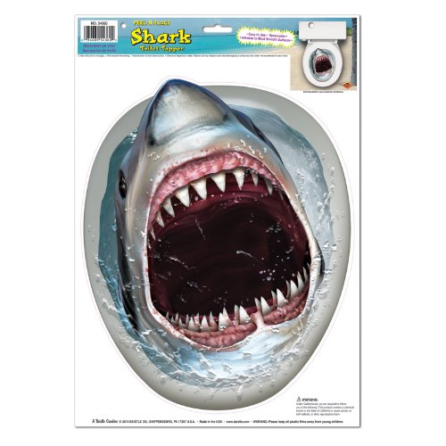 Shark Toilet Topper Peel 'N Place