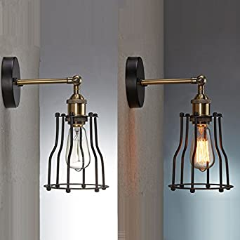 YOBO Antik Wandleuchte Anlage Industrie Edison Design Klassisch Nostalgie  Für E27 Lampe Licht Glühbirne   Us181