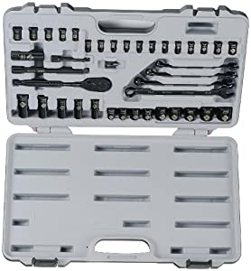 Stanley 94-377 40-Piece Black Chrome Socket Set at Sears.com