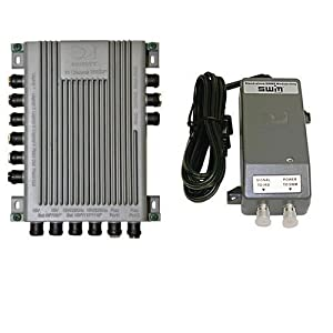 DirecTv SWM 16 Channel Single Wire Multi-Switch with Power Inserter 29V (PI29R1-03)