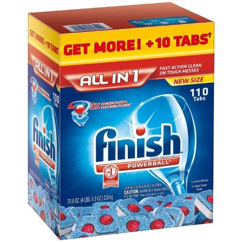Annihilate Powerball Tablet Dishwasher Detergent, 110 ct, 78 oz