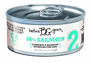 Merrick Before Grain #2 Salmon Paté Style Cat Food, 5.5 Ounce Can (24 Count Case)