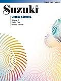 Suzuki Violin School, Vol 2: Violin Part (Suzuki Violin School, Violin Part)