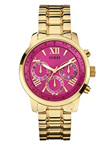 GUESS Women's U0330L4 Analog Display Quartz Gold Watch